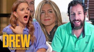 Adam Sandler Addresses Jennifer Aniston vs. Drew Rom-Com Feud Rumors