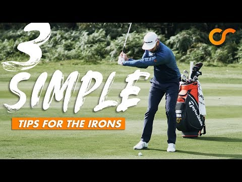 3 SIMPLE TIPS FOR THE IRONS