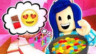 TRAPPED IN ROBLOX CANDY LAND FOREVER...
