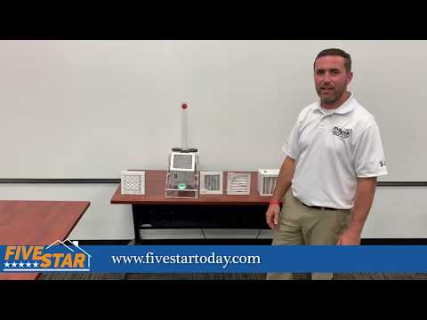 Five Star Greenville Air Filter Tutorial Video