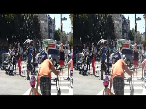 Bubble Machine at Sunday Streets - Western Addition (YT3D:Enable =True)