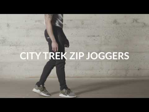 Aesthetic Revolution | City Trek Zip Joggers