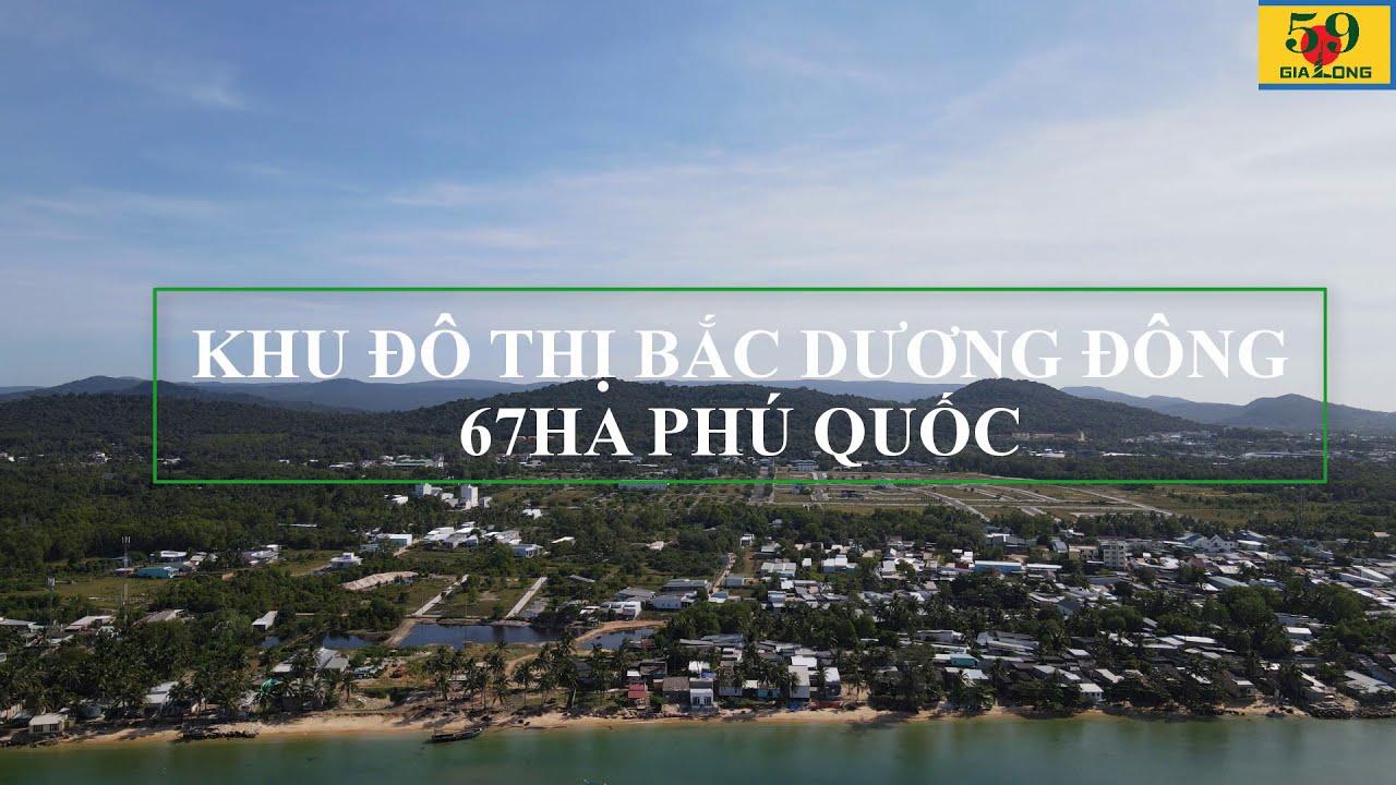 Bán cặp nền nhà phố G1 đối diện trường học Khu đô thị Bắc Dương Đông Phú Quốc video