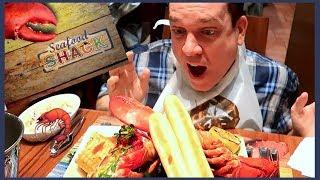 Seafood Shack Treasure Island Las Vegas - LOBSTER Clambake!