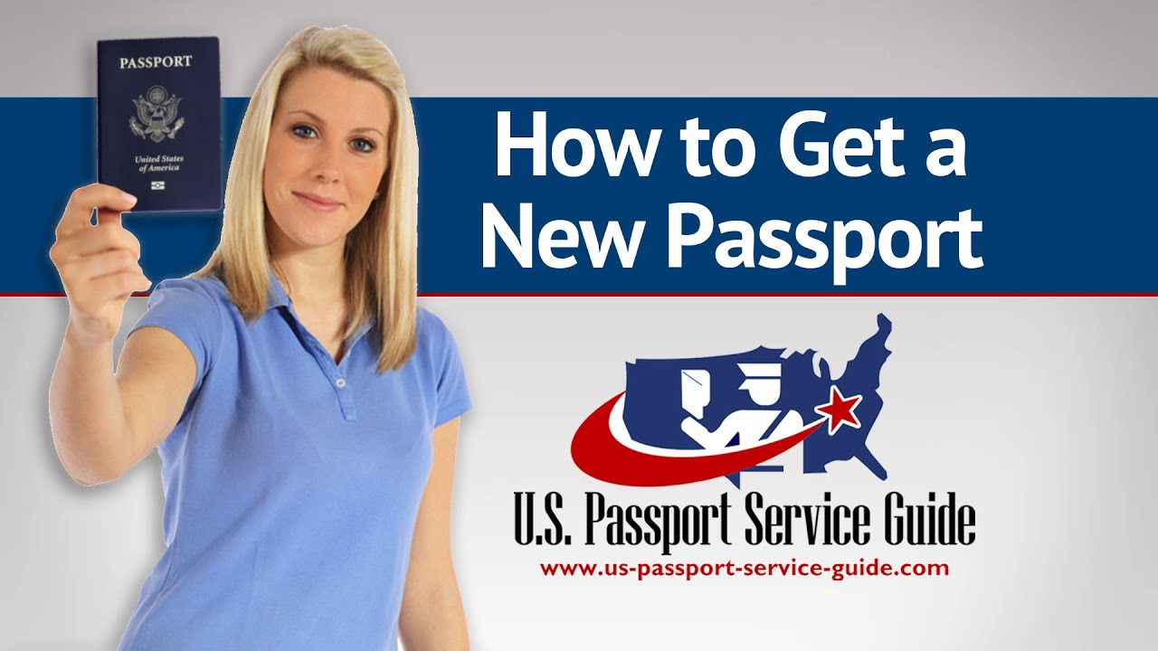 How To Get A New Passport - YouTube