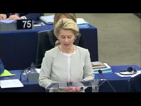 #EPlenary session: UK Withdrawal Agreement - Opening statement by President von der Leyen photo