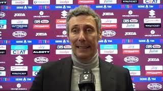 Torino Udinese 2_3 I 12 Dicembre 2020   INTERVISTA Luca Gotti