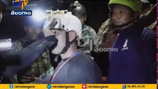 Thai Navy Seals Release Video | of Thailand Soccer Team Being Rescued