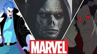 Morbius Evolution in Movies,Cartoons and Games (2019)