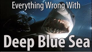 Everything Wrong With Deep Blue Sea In 16 Minutes Or Less
