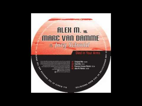 Alex M  vs Marc Van Damme - Died In Your Arms (Aeon Payne´s Bootleg Mix)
