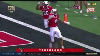 Houston vs Texas Tech Football Highlights