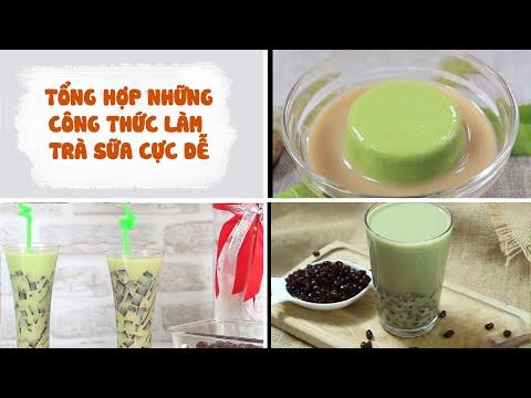 Tổng Hợp Những Công Thức Làm Trà Sữa Tại Nhà Cực Đơn Giản