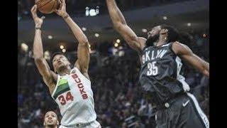 Milwaukee Bucks vs Brooklyn Nets NBA Full Highlights (30TH DECEMBER 2018-19)