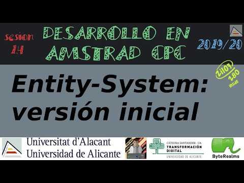 Arquitectura Entity-System: implementación básica inicial