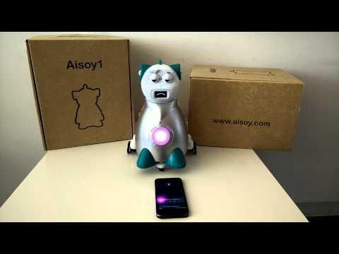 Aisoy1 usando Siri | Aisoy1 using Siri