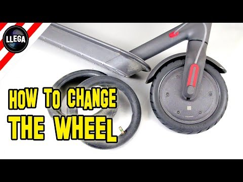 HOW TO CHANGE TIRES TO THE XIAOMI MIJIA M365 ELECTRIC SCOOTER