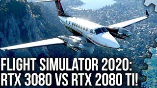 Flight Simulator 2020: RTX 3080 vs RTX 2080 Ti - a 4K Head-to-Head Shoot-Out!