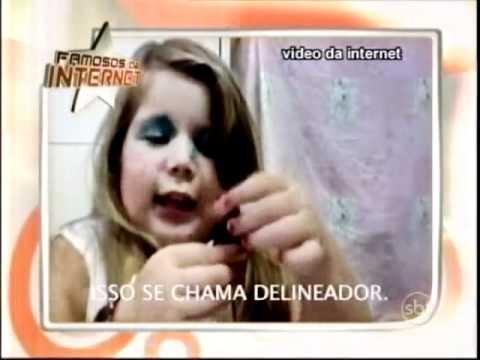 Baixar Eliana - Julie, de 4 anos, dá aula de maquiagem