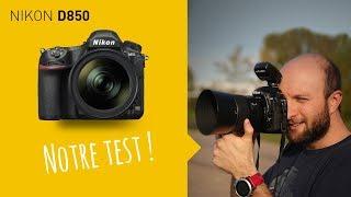 Vidéo-Test : Test Nikon D850 : le plein format irréprochable ? (en français)