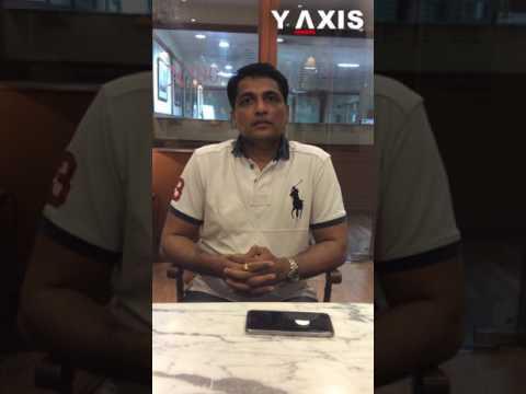 Y-Axis client Sachin Patkar's Video Testimonial on UK Entrepreneur Visa processing