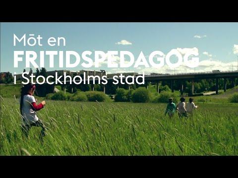 Möt en fritidspedagog i Stockholms stad