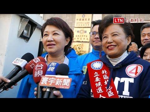 最後1天陪沈智慧衝刺 盧秀燕:非市長延長賽 是61歲走大運