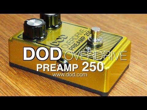 DOD Overdrive Preamp 250 (2014)