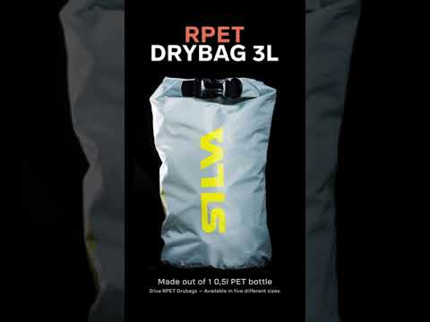 R-PET – 100% Recycled Dry Bag, available in five sizes between 3-36 L
