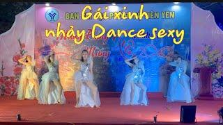 /gai xinh nhay dance sexy hay dep cuc ki xem la phe