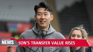 Tottenham Hotspur's Son Heung-min triples his transfer value in 3 years