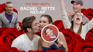 Ellen's Staff Tests 'Bachelor' Couple Ashley Iaconetti and Jared Haibon's Compatibility
