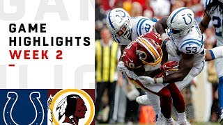 Colts vs. Redskins Week 2 Highlights | NFL 2018
