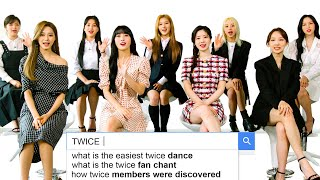 TWICE Answer the Web's Most Searched Questions | WIRED