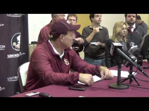 Jimbo Fisher after Florida State over Boston College