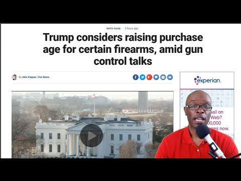 Trump Talks About Enacting Tougher Gun Laws; May Ban Bump Stocks (REACTION)