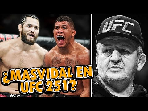 Gilbert Burns FUERA de UFC 251 tras POSITIVO, Jorge Masvidal ¿como REMPLAZO contra Usman?, Khabib