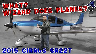 What?!? The CAR WIZARD does airplanes??? Check out this awesome 2015 Cirrus SR22T prop plane!