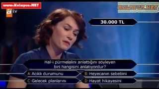 Kim milyoner olmak ister 26 Kasım 2013 289. bölüm Emine Betül Demir