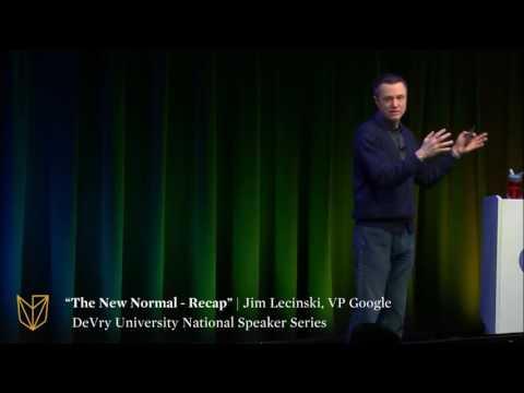 "DeVry University National Speaker Series: ""The New Normal – Recap"""