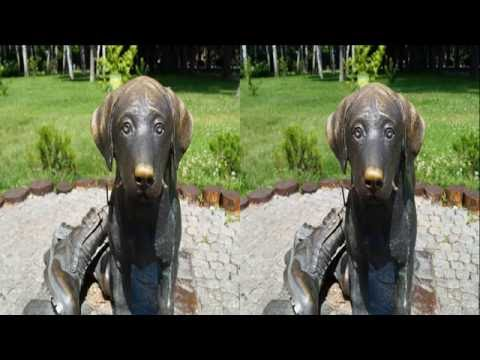 My Big Walk 3D ! Part 2 - INANIMATE BEAUTY !3D Photo