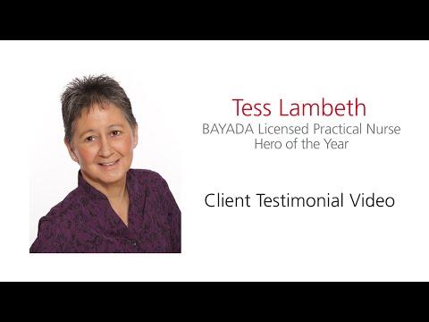 """Teresa """"Tess"""" Lambeth LPN Hero of the Year 2016"""