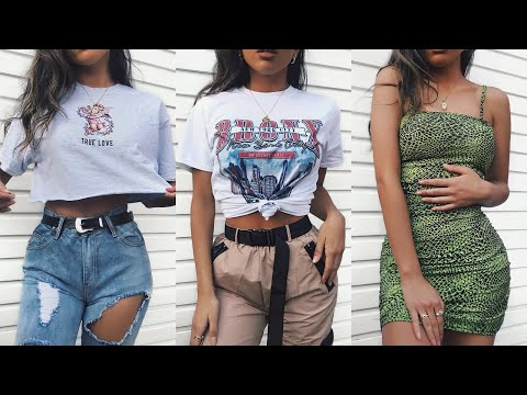 HUGE SPRING / SUMMER TRY ON CLOTHING HAUL 2019 - PLT     AD