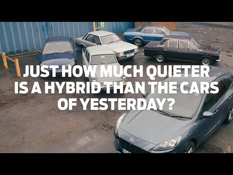 Just How Much Quieter is a Hybrid Than the Cars of Yesterday?