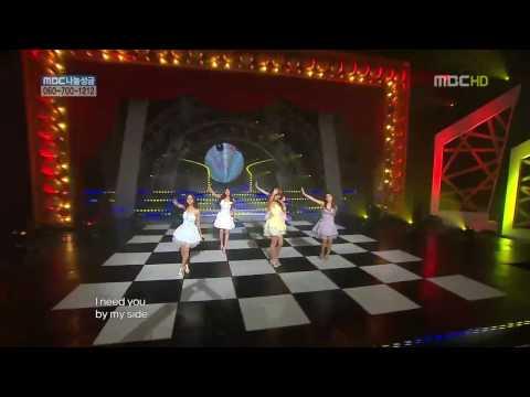 (郭書瑤瑤) Honey 韓國甜美女團KARA原音 2009年Live場_HD.x264.mp4