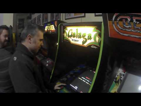 PABLO FORCEN GALAGA NEW RECORD IN ARCADE VINTAGE  1,072.820