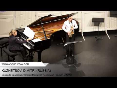 Dinant 2014 - Kuznetsov, Dimitri - Concerto Capriccio by Gregori Markovich Kalinkovich