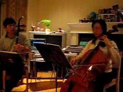 淚光閃閃(夏川里美) / 陪我看日出(蔡淳佳) 之陶笛、大提琴、二胡合奏版