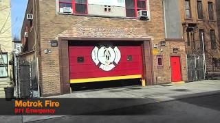 FDNY Fire Units Responding On Calls Winter 2013