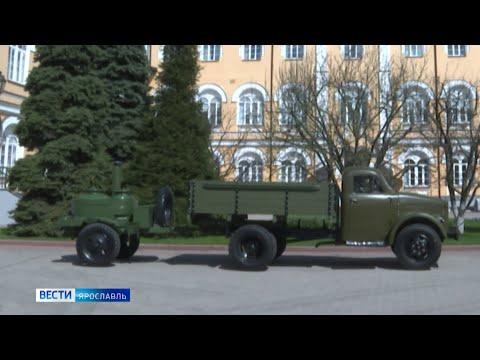 Железнодорожники возродили уникальный автомобиль ГАЗ-51